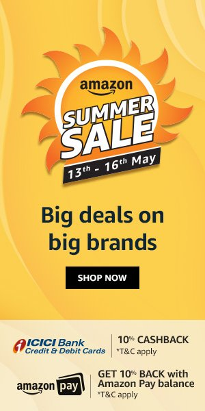 Amazon Summer sale