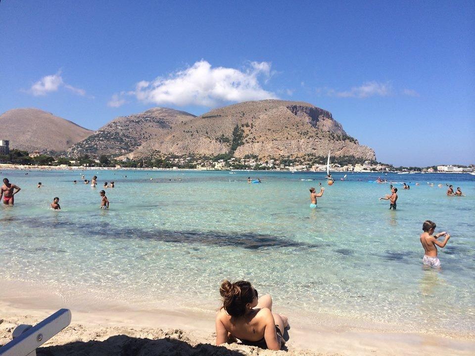 Mondello Beach Palermo Sicily