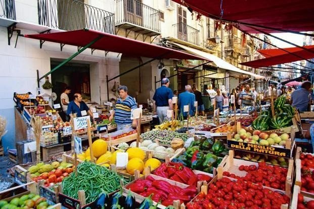 Street Markets in palermo