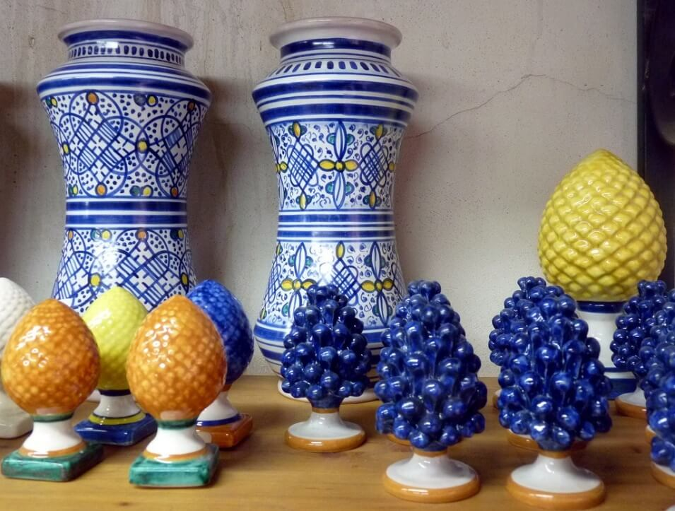 Caltagirone Pottery in Palermo