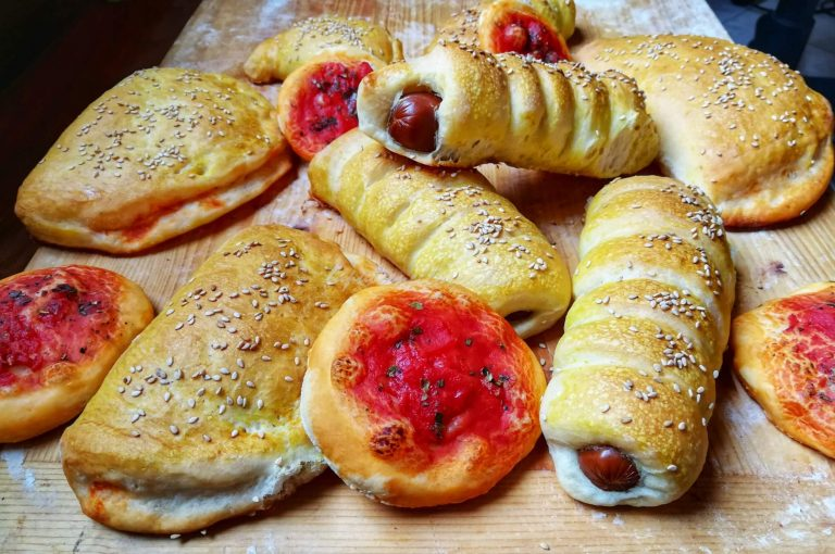 Pezzi di rosticceria Palermo street food