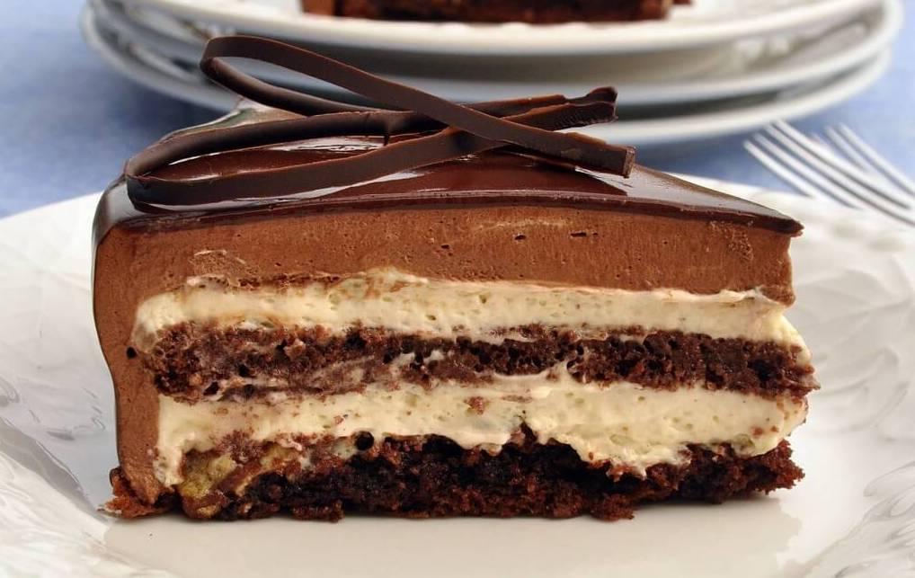 Torta Setteveli Chocolate tart palermo