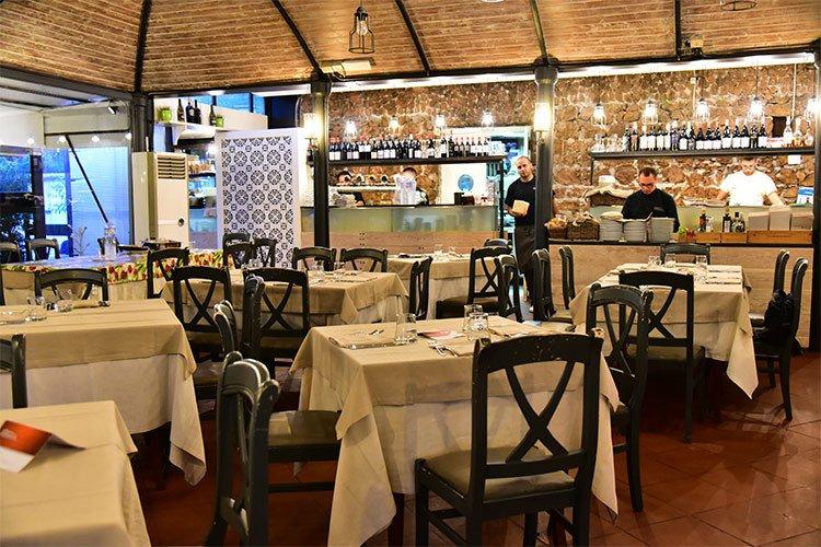 Villa Costanza pizza restaurant in palermo