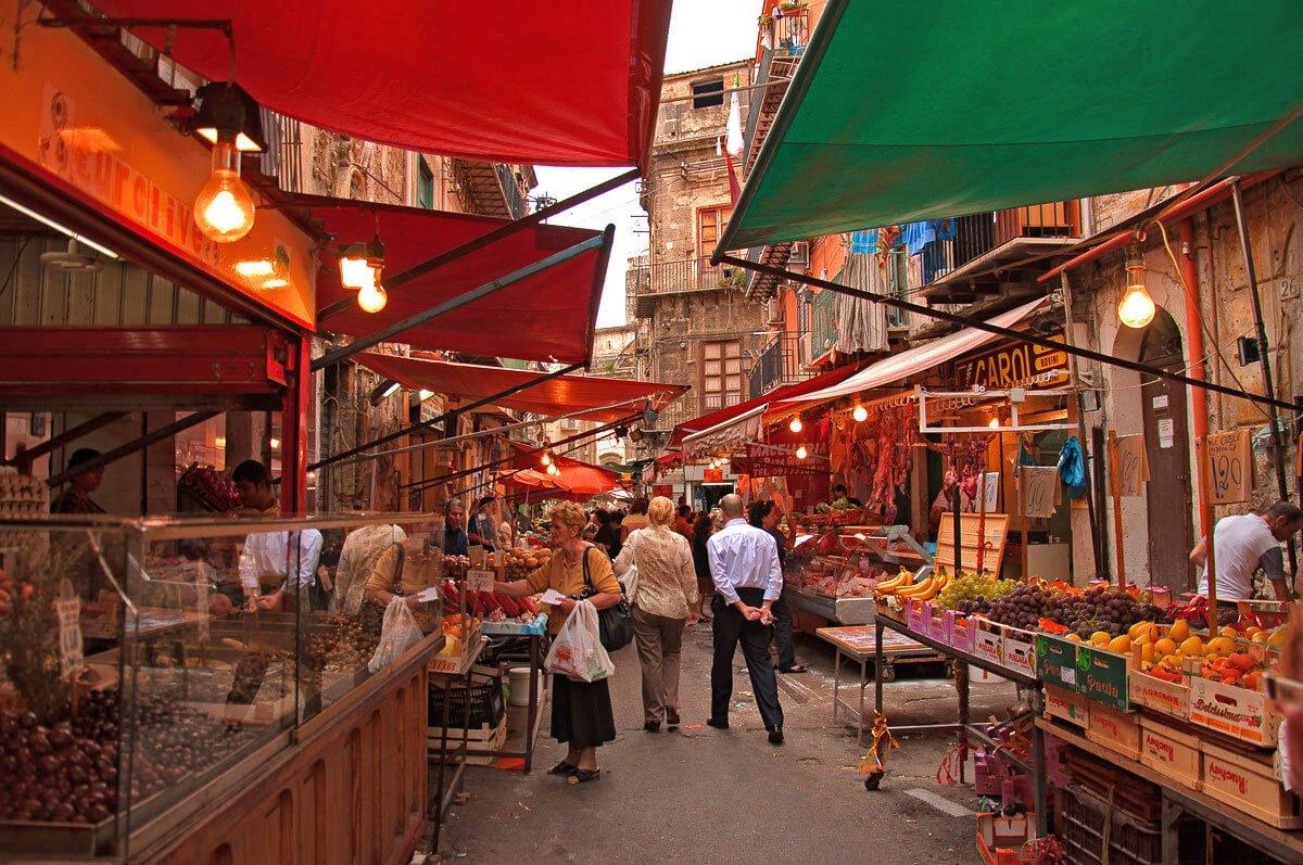 Ballaro is the best street market to go to