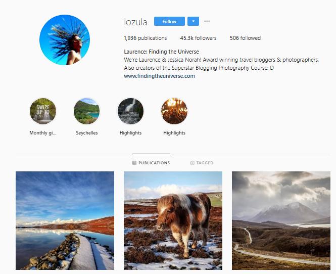 lozula travel instagrammer