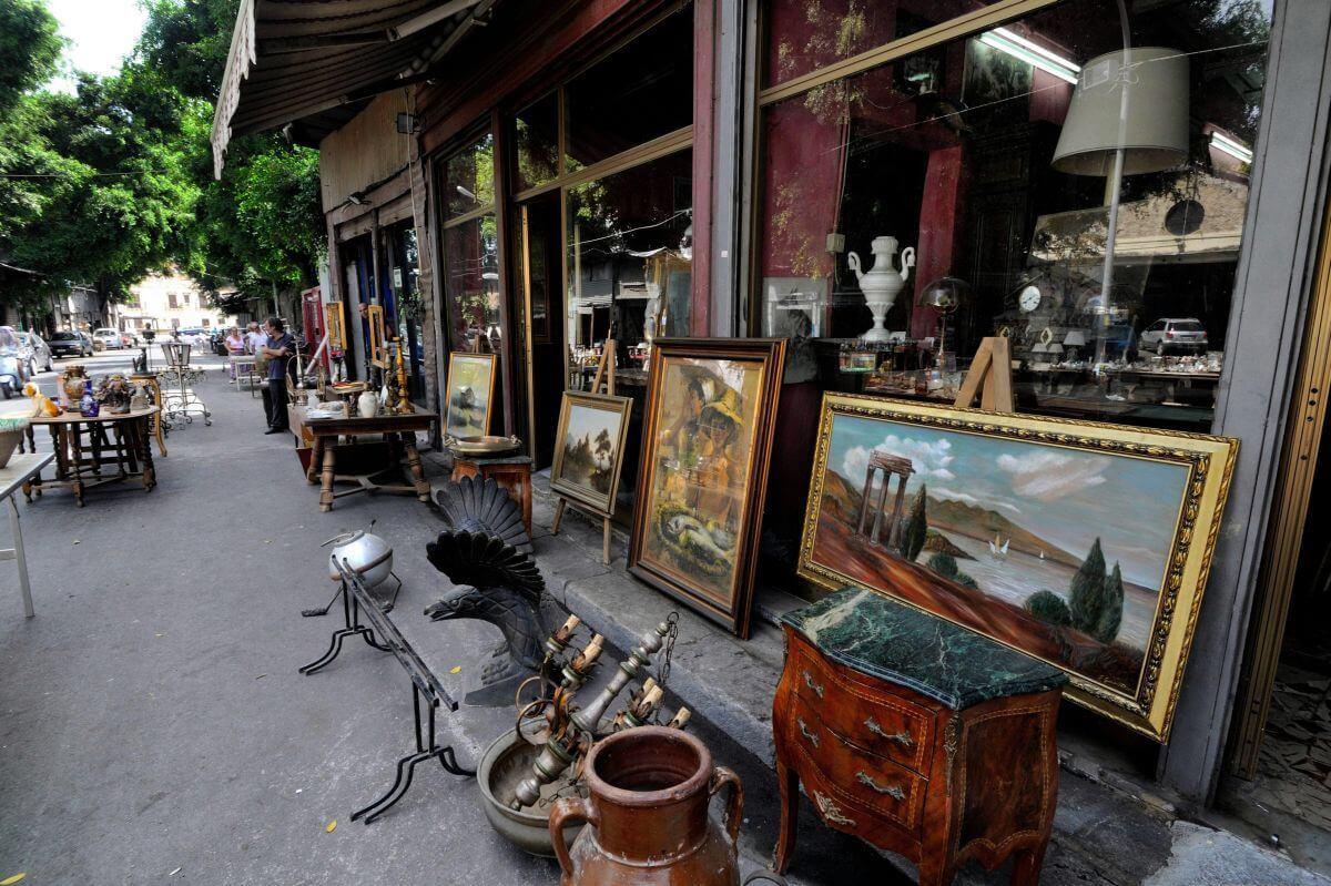 mercato delle pulci flea market in palermo