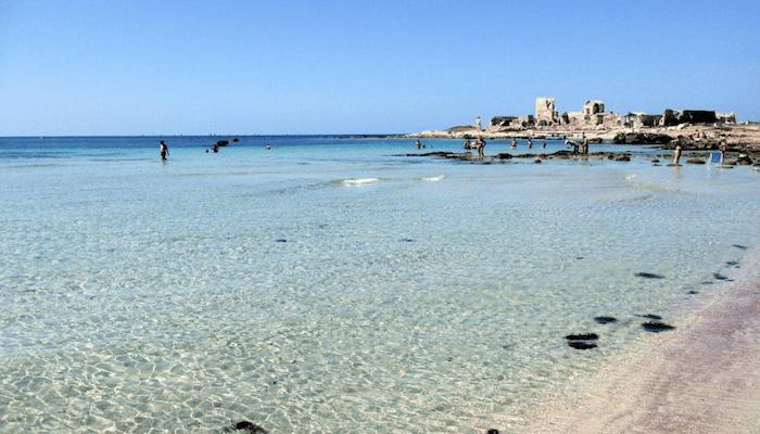 Bonagia Beach Trapani Sicily