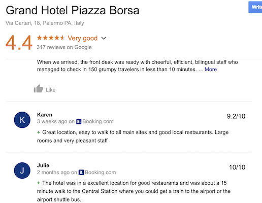 Grand Hotel Piazza Borsa Review