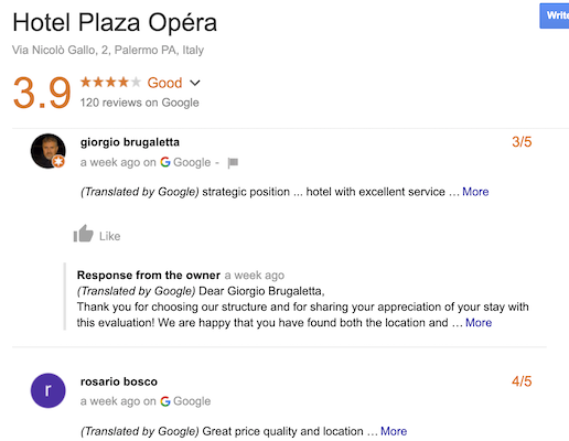 Hotel Plaza Opera Review