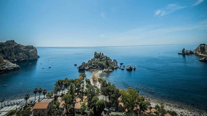 Isola Bella Messina Italy