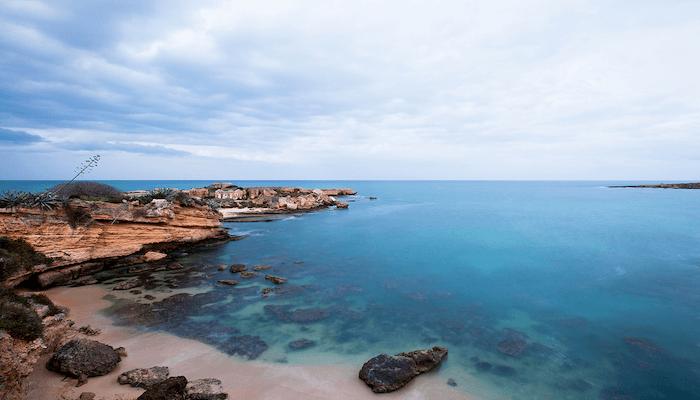 Punta Asparano Beach Catania Sicily