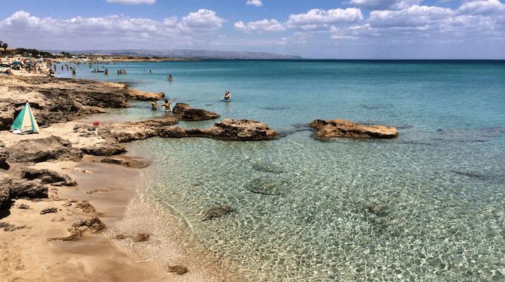 San Lorenzo Beach Sicily