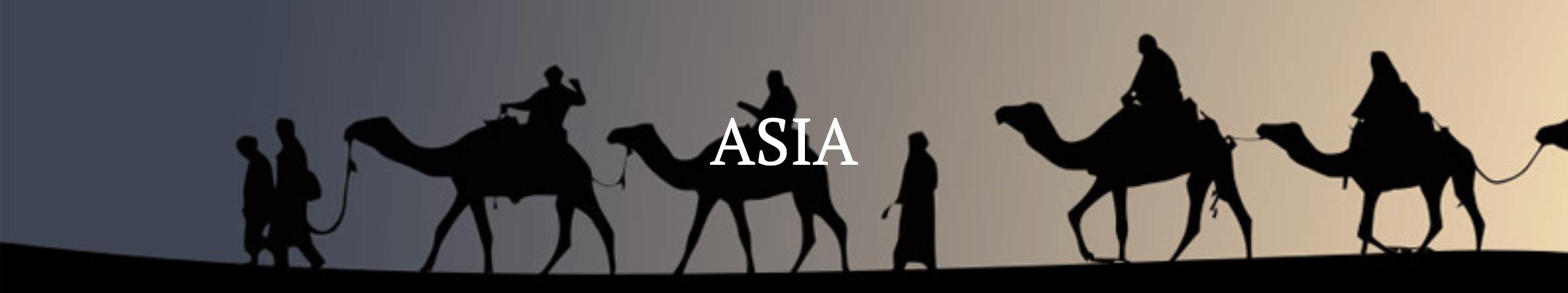 Asia destination