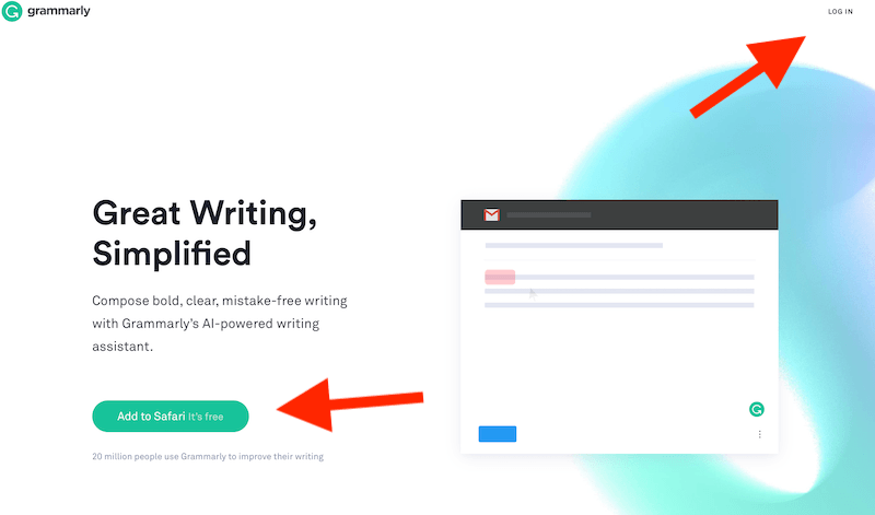 sign up for grammarly