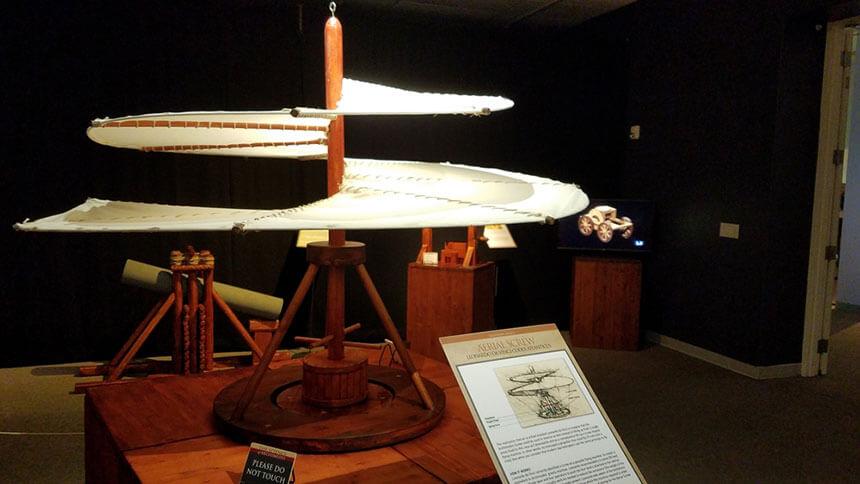 Leonardo da Vinci Museum and Archimede Siracusa