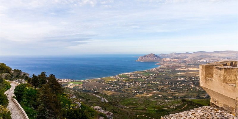 romantic day-trip to Erice, sicily