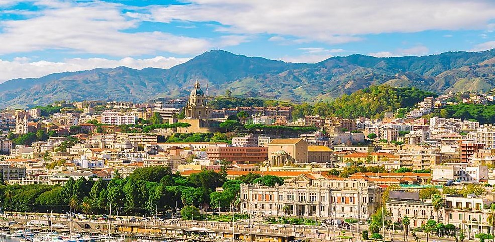 third largest city of sicily, messina