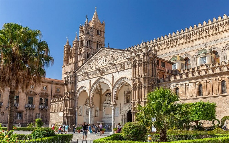 Palermo capital city of sicily, italy