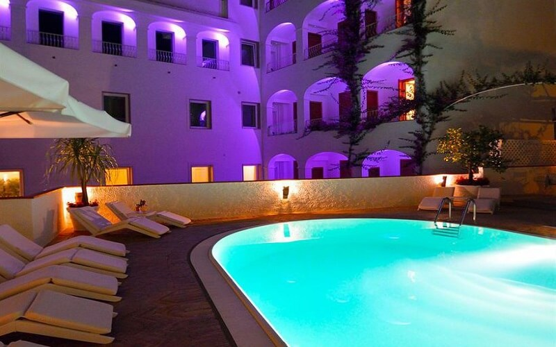 beach hotel in Sicily